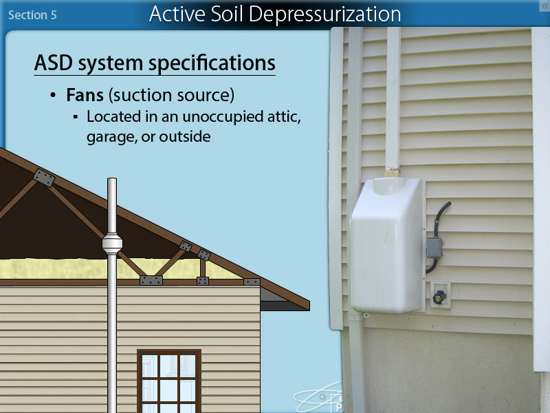 Section 5: Radon Mitigation Systems